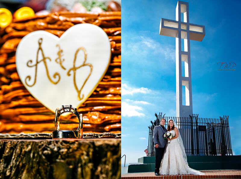 { Abigail + Bradley | San Diego Wedding Photography | St. Charles Catholic Church | Mount Soledad Cross | Soledad Club Pacific Beach | Lead Photographer Allan Jay Garcia | TWP }