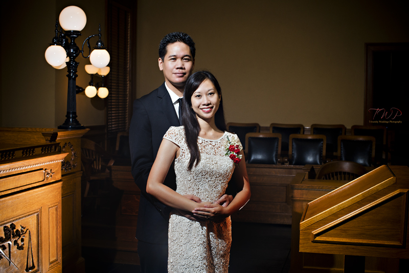 Melissa James Old Orange County Courthouse Wedding Photography Lead Photographer Allan Jay
